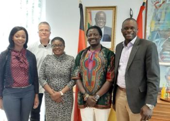 Besuch vom Botschafter von Ghana bei AAA