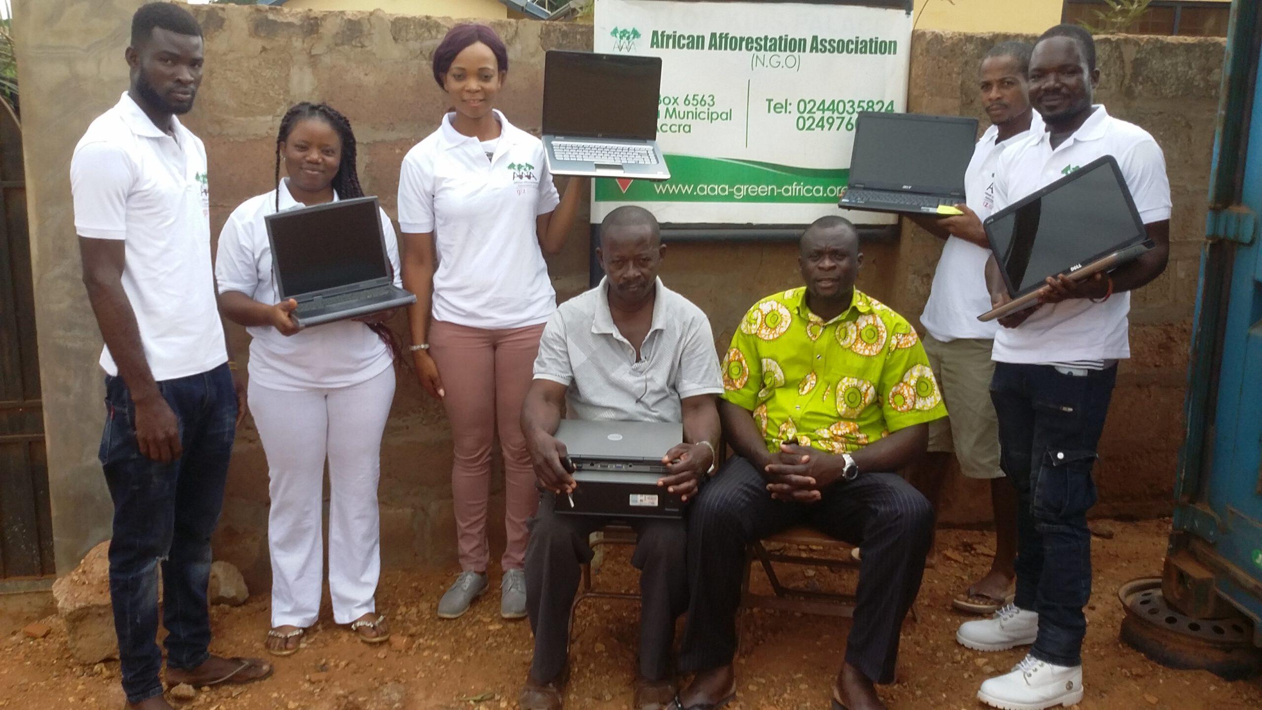 Aufforstung Afrika AAA Donation Accra Ghana scaled 1