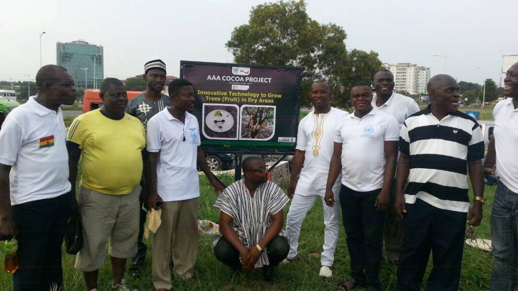 Aufforstung Afrika Tettey Quashie Project