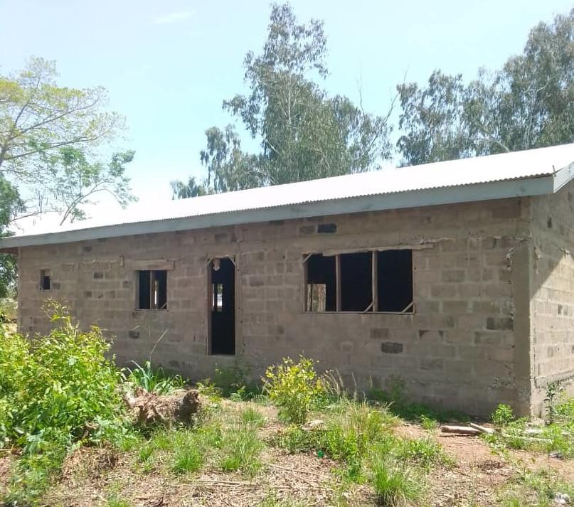 Aufforstung Afrika 20210425 Speisesaal Bau 313 09 56 1