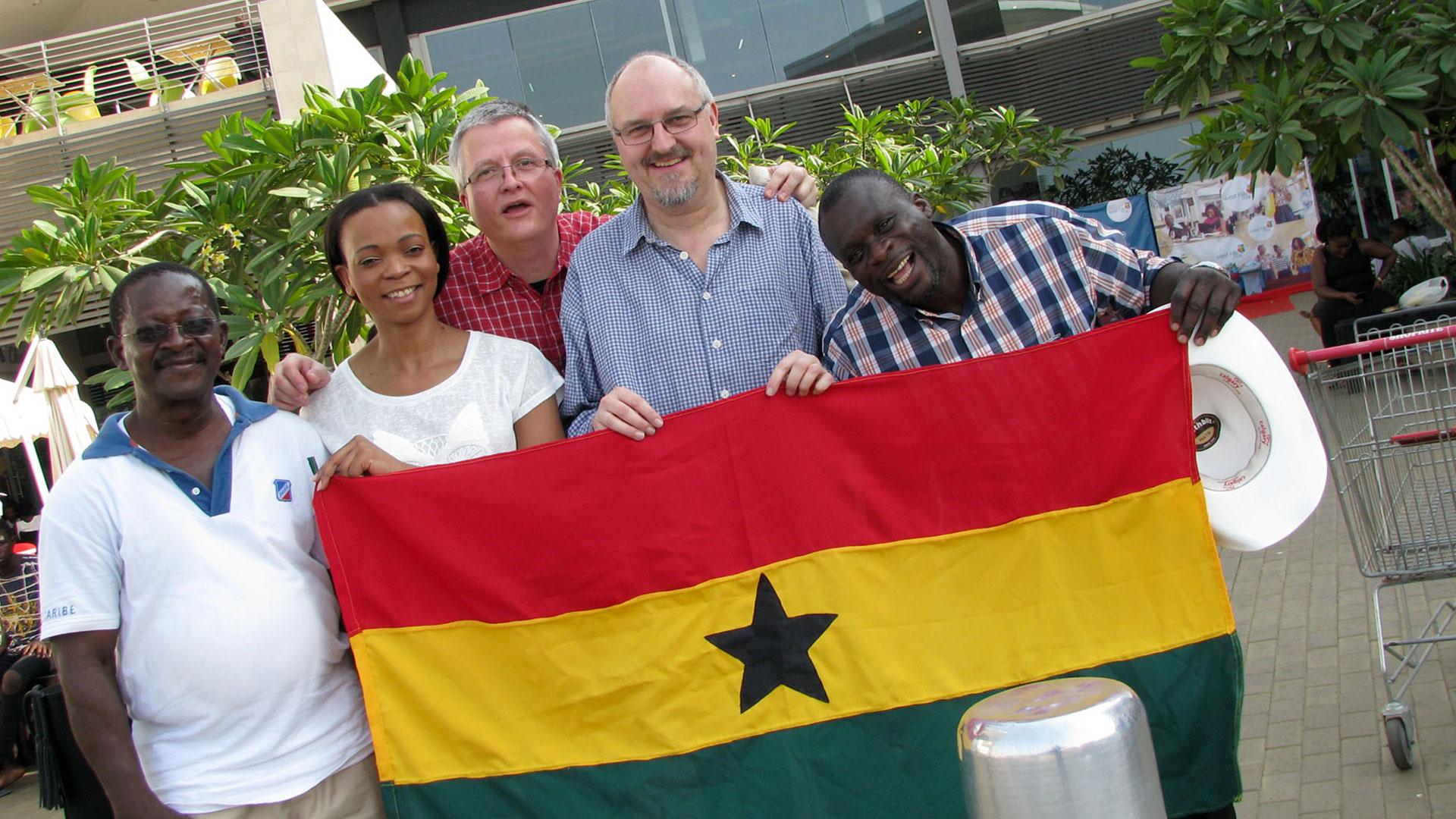 Aufforstung Afrika Erster Aufenthalt in Ghana 1